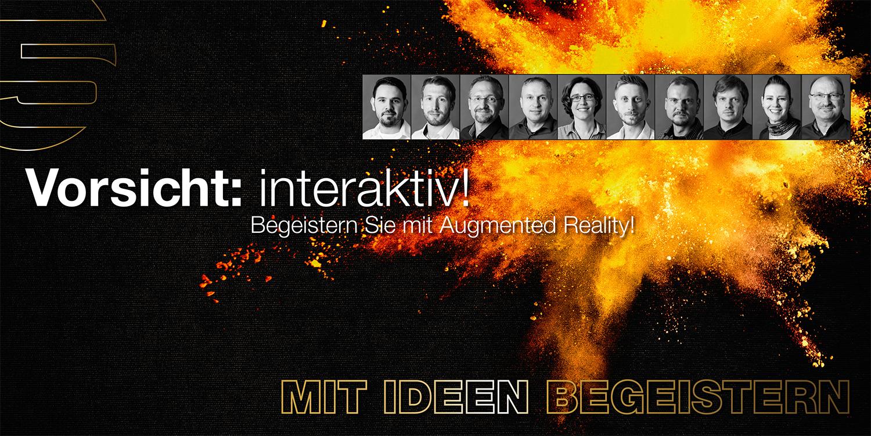 AR Agentur, Erweiterte Realität