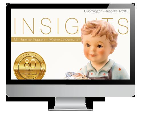 Clubmagazin INSIGHTS von Hummel Manufaktur