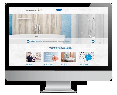 Professionelles Webdesign