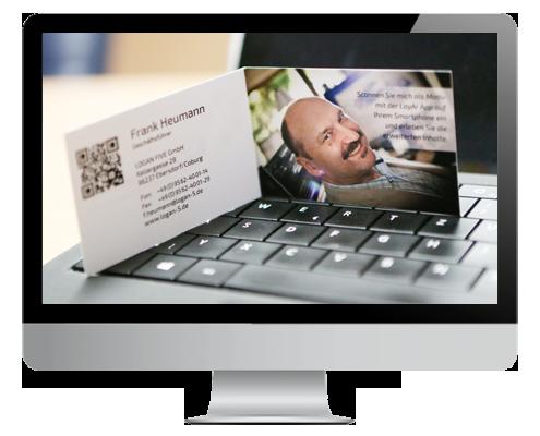 AR Visitenkarten, Augmented Reality Businesscards