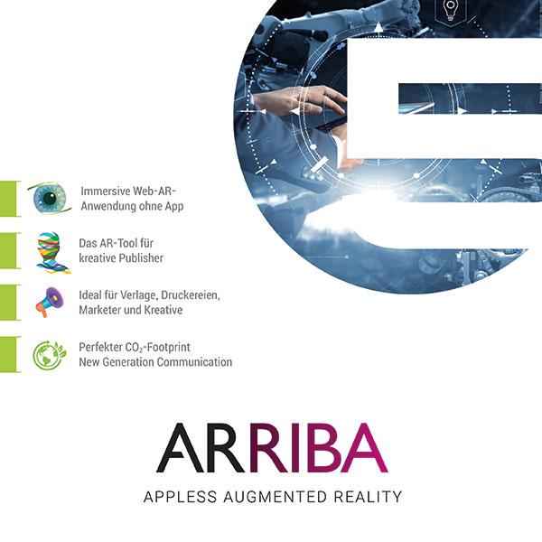 AR ohne App, ARRIBA von Logan Five