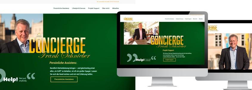 Webdesign Coburg Concierge Frank