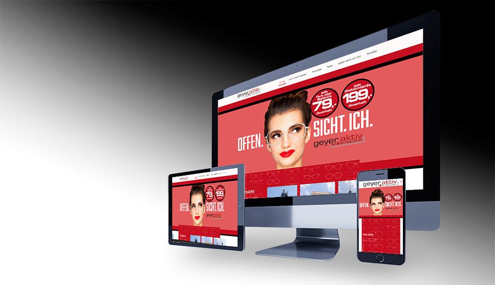 Brille 79 Webdesign