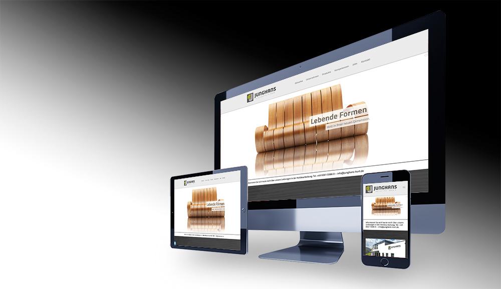 Webdesign Junghans Dörfles-Esbach