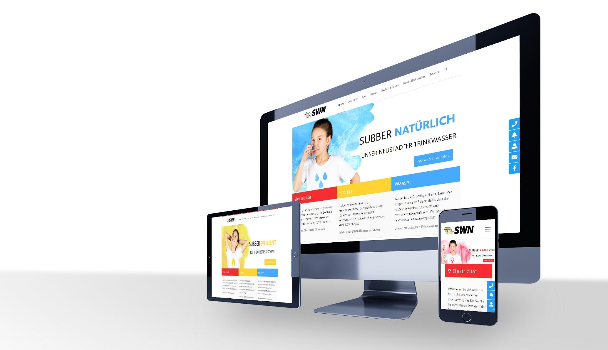 SWN Neustadt Webdesign