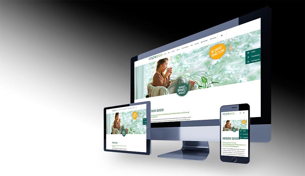 Webdesign Agentur Capseco