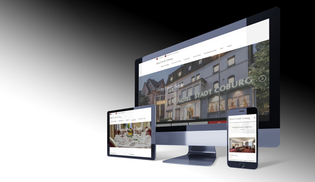 Webdesign Coburg, Hotel Webseite Design