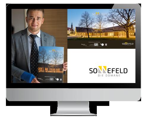 Architekturbroschuere Domäne Sonnefeld
