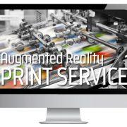 Print Service AR, Augmented Reality in Drucksachen