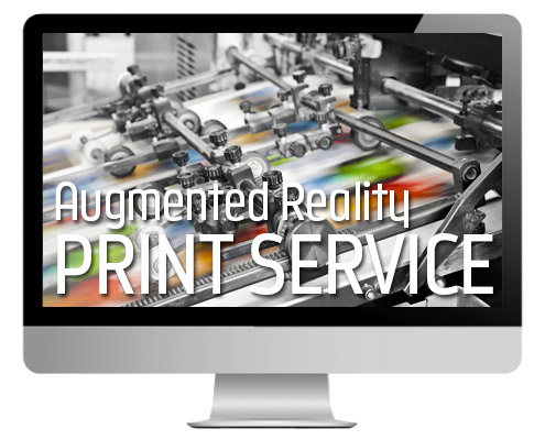 Print Service AR, Augmented Reality in Drucksachen