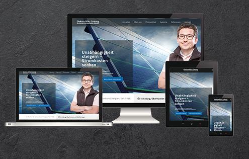 Webdesign Coburg Elektroblitz
