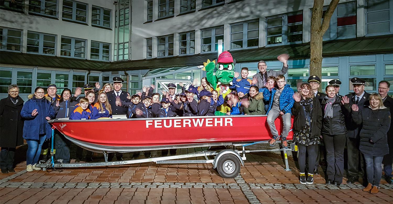 Feuerwehr Loeschi Kinder Boot