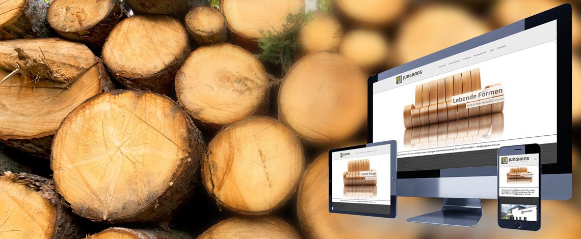 Webseiten für Hersteller