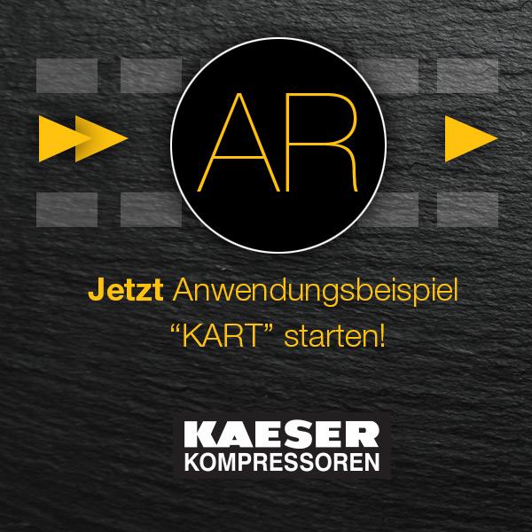 Kaeser Kompressoren AR, Augmented Reality Agentur