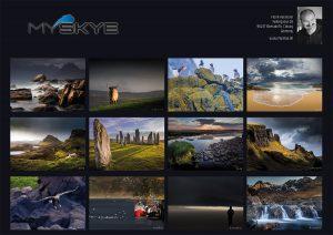 Kalender-Motive, Schottland-Kalender 2018, Isle of Skye, Harris, Lewis
