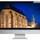 Nachtaufnahme Klosterkirche Sonnefeld