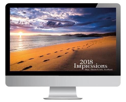 Schottland Kalender 2018, Scotland Calendar 2018