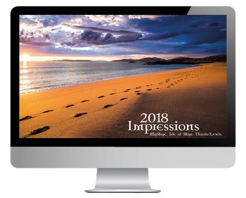 Isle of Skye Kalender 2018