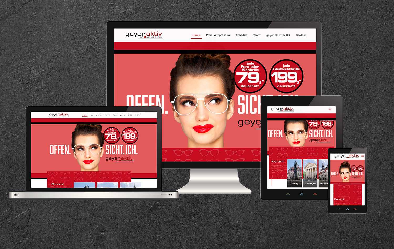 Webdesign Geyer Coburg