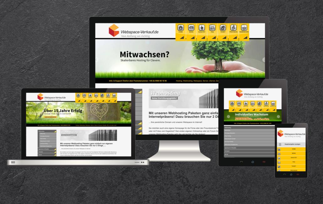 Webdesigner Coburg, Logan Five GmbH, Provider
