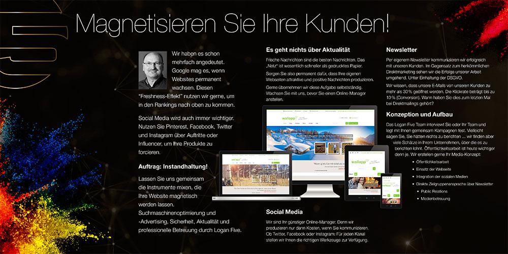 Aufbau von responsiven Webseiten
