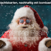 Digitale Weihnachtskarte, elektronische Weihnachtskarte