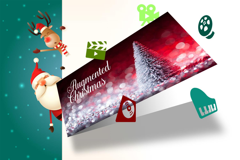 Digitale Weihnachtskarte: Augmented Reality ist neu!