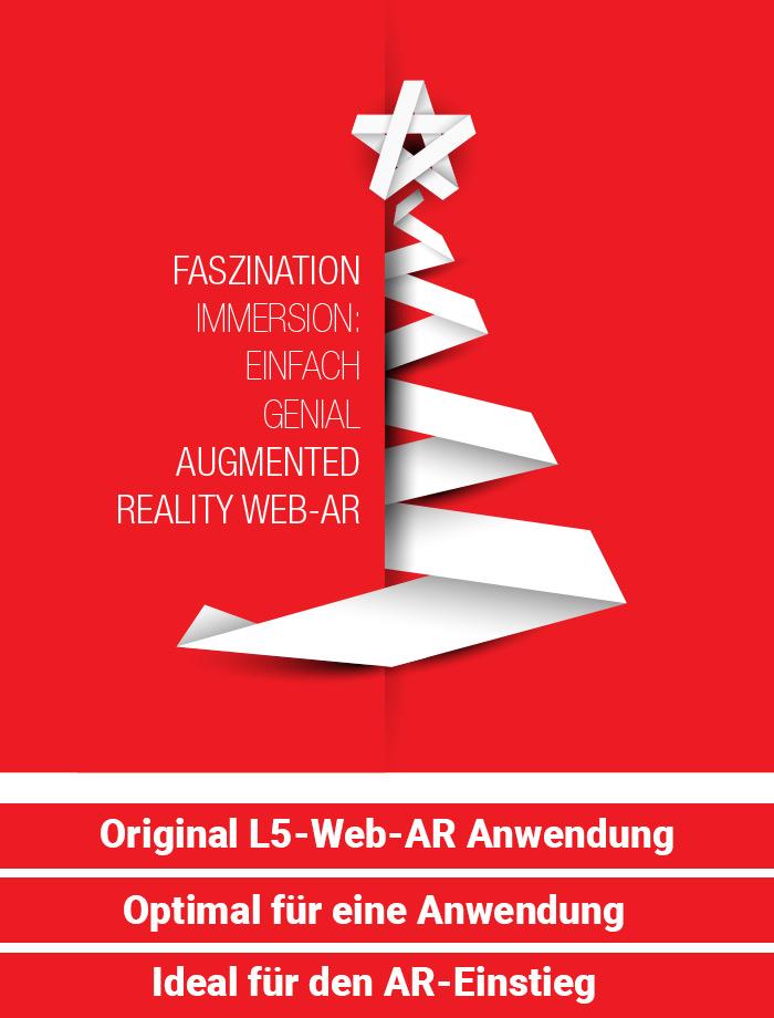 Digitale Weihnachtskarte von Logan Five: Immersiv