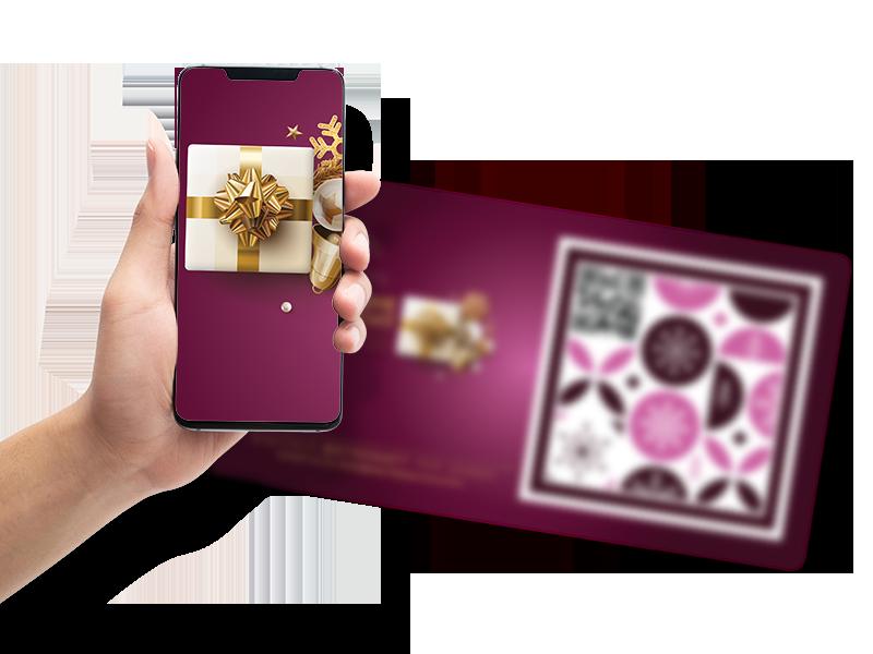 Digitale Weihnachtskarte 2021 mit Augmented Reality