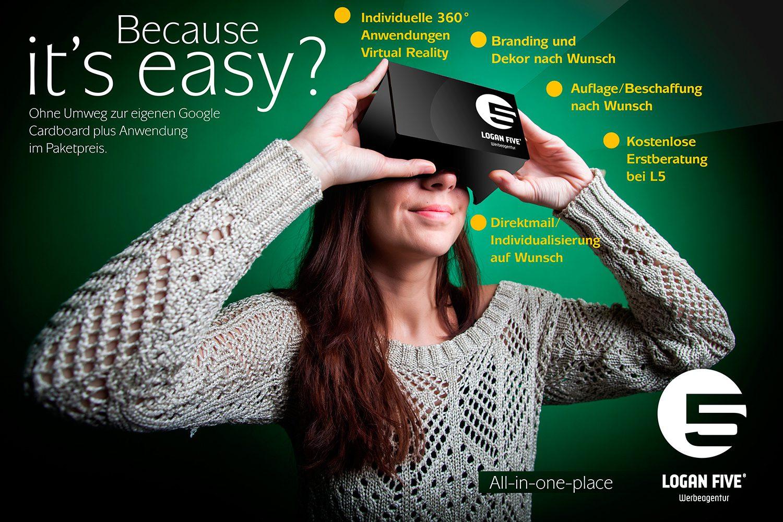 Google Cardboard Brille VR