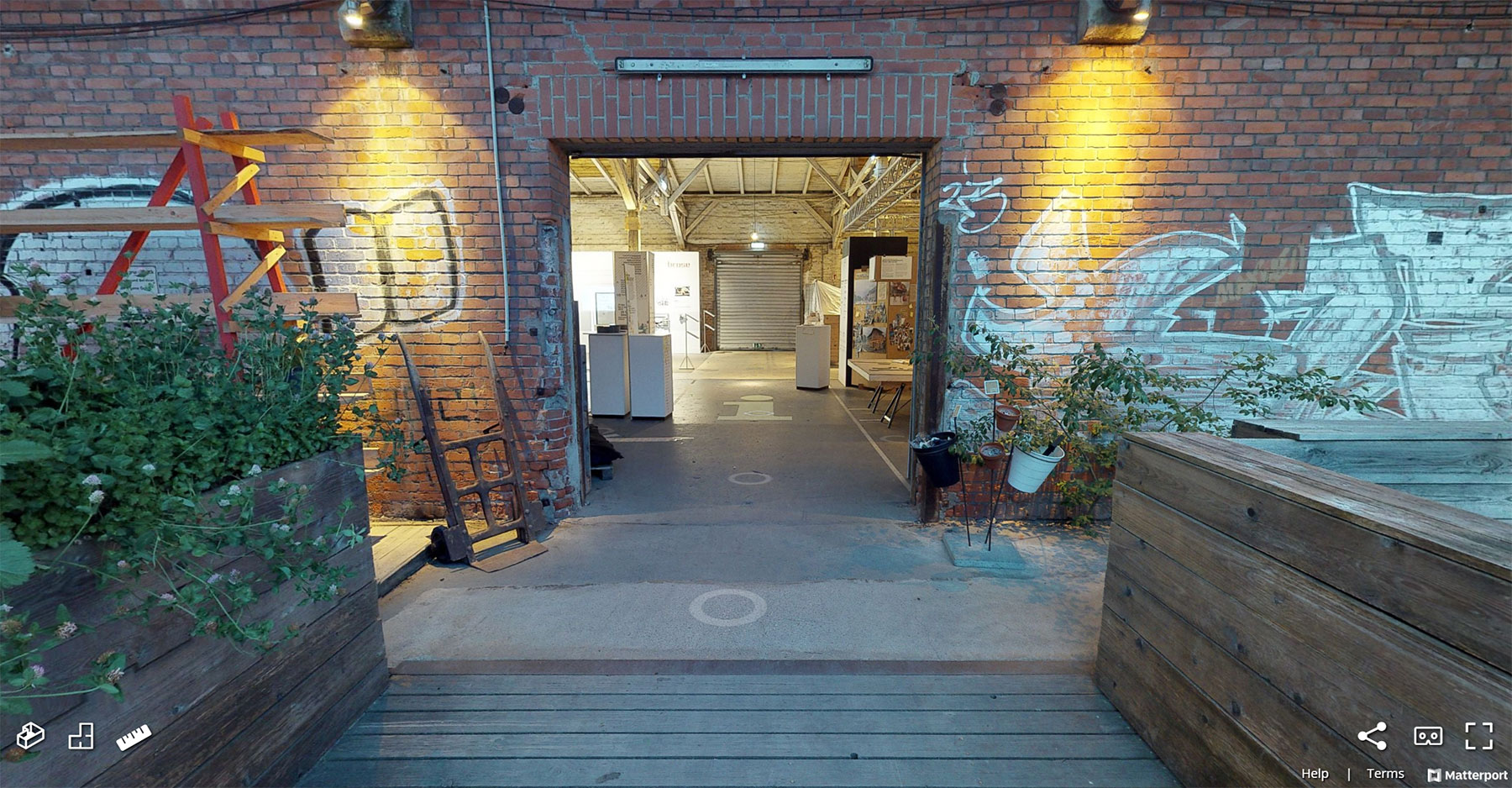 Matterport Coburg, 3D-Scan Räume und Hallen