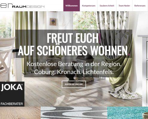 Handwerker-Webseite: neder-raumdesign
