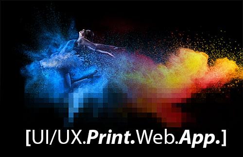 Werbeagentur Print Web App