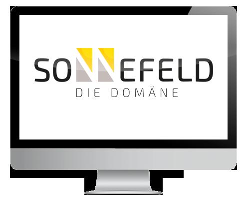 Modernes Logo für Domäne Sonnefeld