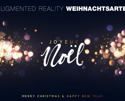 Digitale Weihnachtskarte Unternehmen